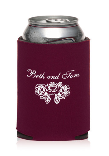 Custom Collapsible Wedding Can Cooler KZW25 Discount Mugs