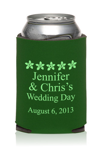 Promotional Collapsible Wedding Can Cooler