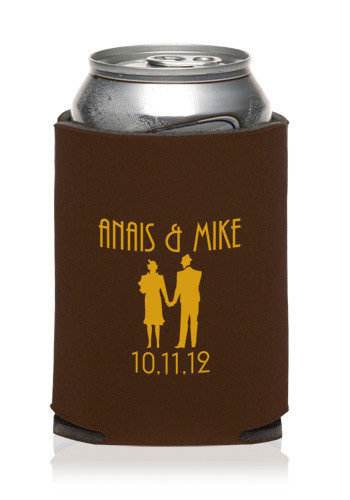 Collapsible Wedding Can Cooler | KZW52