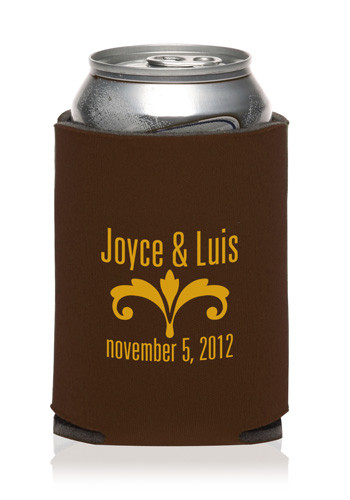 Collapsible Wedding Can Cooler | KZW59