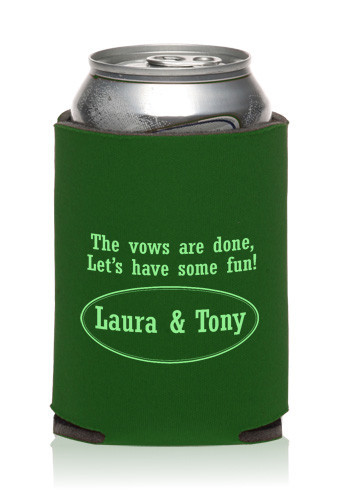 Collapsible Wedding Can Cooler | KZW79