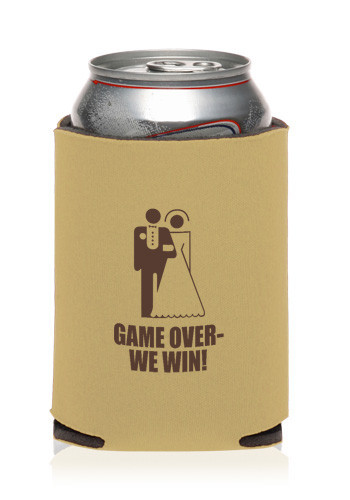 Custom Collapsible Wedding Can Cooler KZW81 Discount Mugs