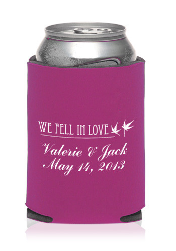 Collapsible Wedding Can Cooler | KZW85