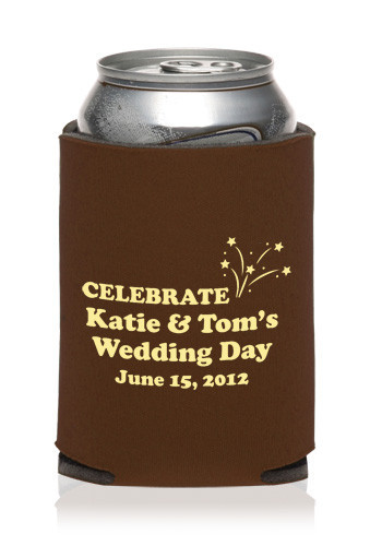 Collapsible Wedding Can Cooler | KZW87