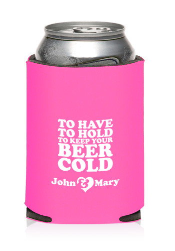 Custom Collapsible Wedding Can Cooler KZW89 Discount Mugs