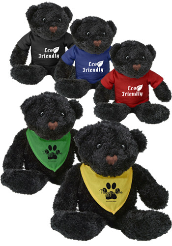 Personalized Color Black Bears
