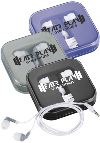 Color Dip Ear Buds in Case | LE719928
