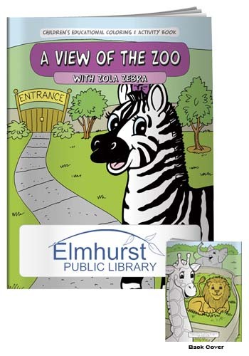 Coloring Books: A View of the Zoo | X11111