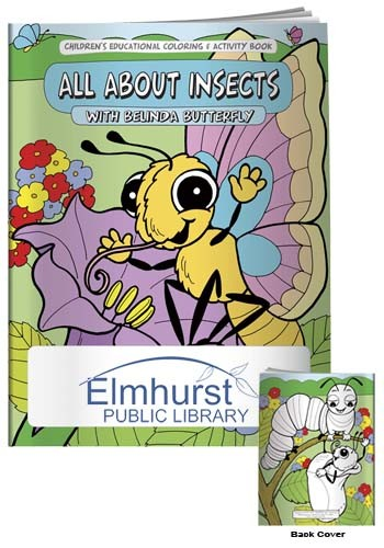 Coloring Books: All About Insects | X11112