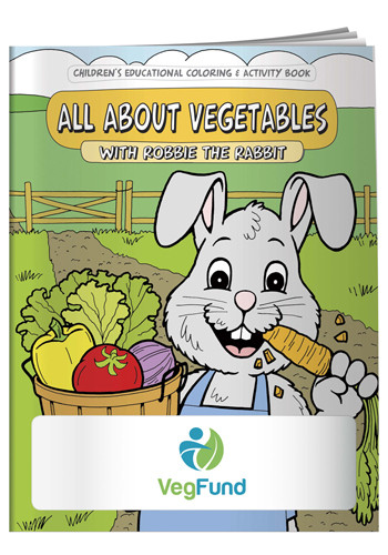 Coloring Books: All About Vegetables | X11067