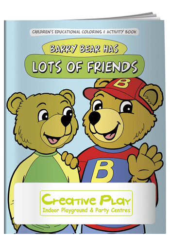 Coloring Books: Barry Bear Has Lots of Friends | X11101