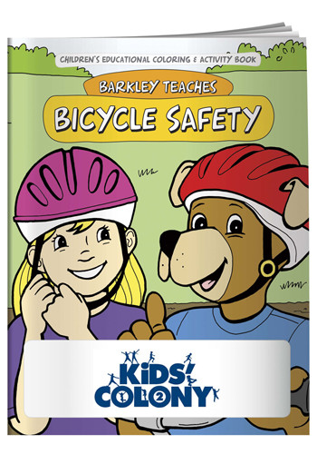 Coloring Books: Bicycle Safety | X11072