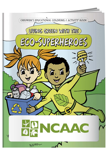 Coloring Book: Eco-Superheroes | X11084
