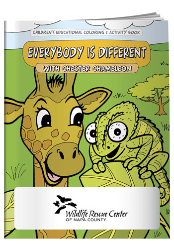 Coloring Books: Everybody is Different | X11102