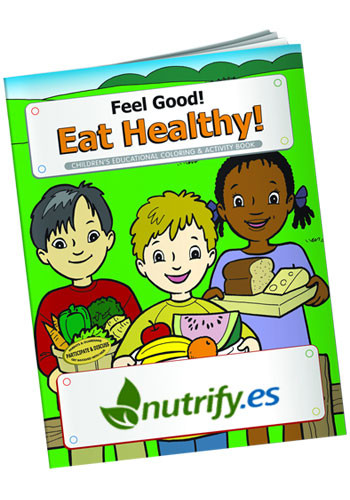 #X10983 Customized Coloring Books: Feel Good! Eat Healthy!