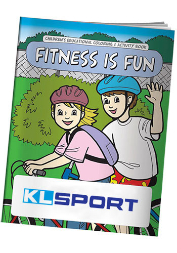 Coloring Books: Fitness is Fun | X10985
