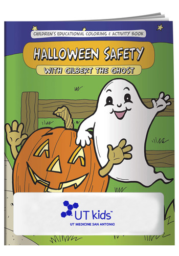 Bulk Coloring Books Halloween Safety