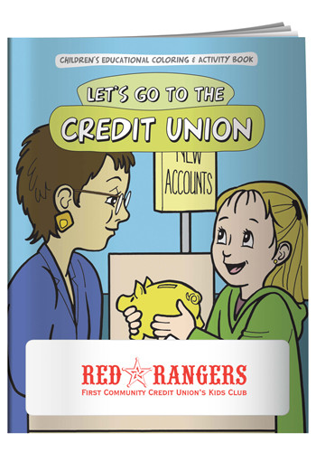 Coloring Books: Let's Go to the Credit Union | X11092