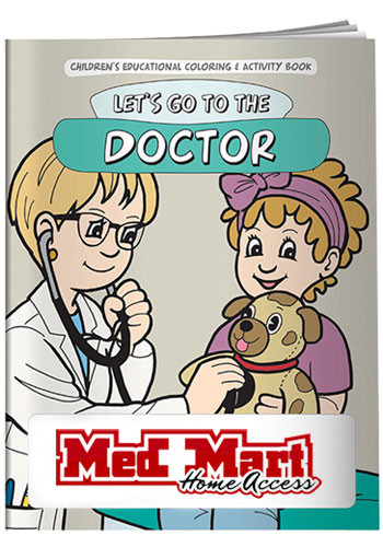 Wholesale Coloring Books: Let's Go To The Doctor