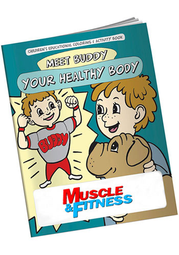 bulk coloring books meet buddy healthy body