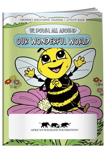 Promotional Coloring Books: Wonderful World