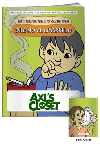 Coloring Books: Say NO to Smoking in Spanish | X11119