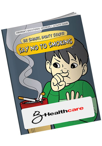 Promotional Coloring Books: Say NO to Smoking