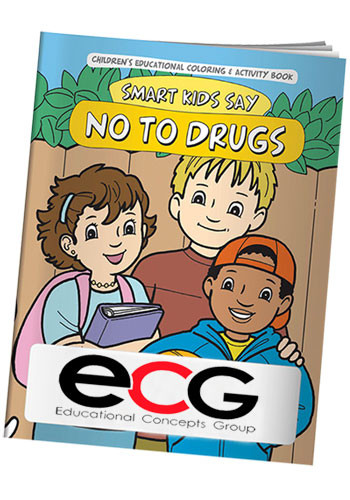 Bulk Coloring Books: Smart Kids Say No To Drugs