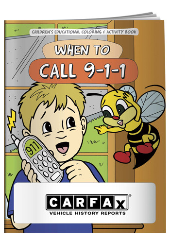Custom Coloring Books: When to Call 911