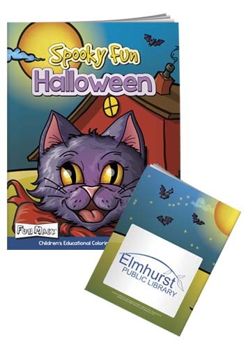 Promotional Coloring Books with Mask: Spooky Fun Halloween