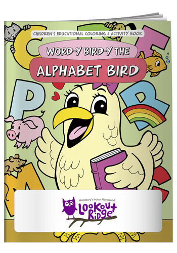 Custom Coloring Books: Word-y Bird-y the Alphabet Bird