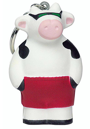 Beach Cow Stress Ball Keyrings | AL26253
