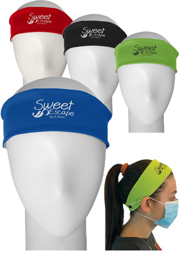 Cooling Headbands With Mask Support| PLPC455