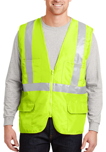 Promotional CornerStone ANSI 107 Class 2 Mesh Back Safety Vests