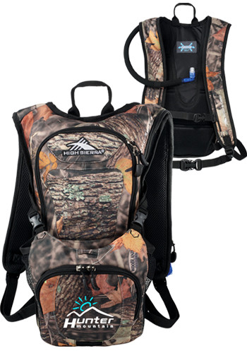 2l High Sierra Quickshot King's Camo Hydration Packs | LE805246