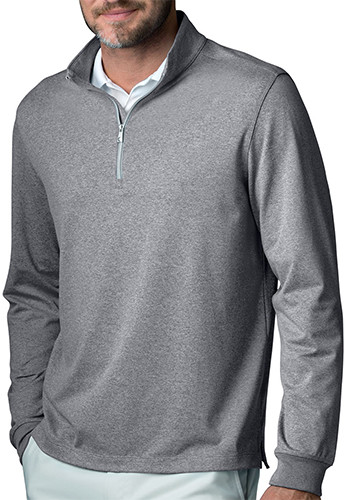 Greg Norman Men's 1/4-Zip Heathered Pullovers | GNS5K006