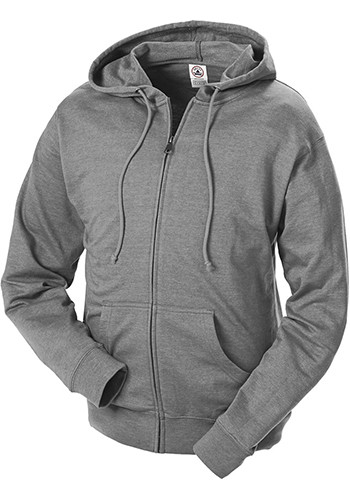Adult Unisex French Terry Zip Hoodie Sweatshirts | 97300