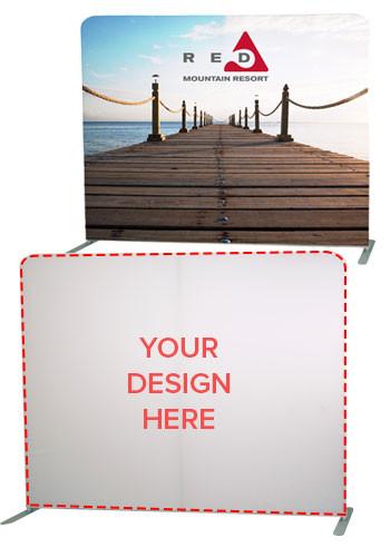 Custom 8' Eurofit Wall Floor Display Kit | SHD255180
