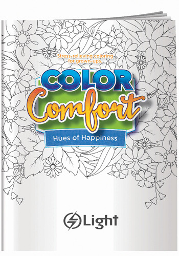 Adult Hues of Happiness Coloring Books | X30127