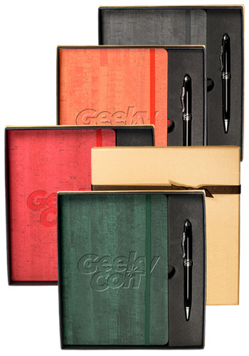 Casablanca Journals & Executive Aluminum Stylus Pen Sets | PLLG9373