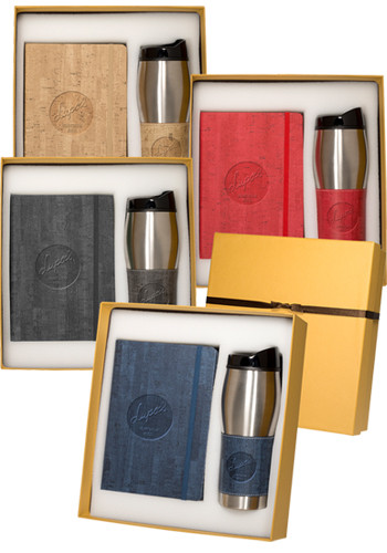 Casablanca Journals & Stainless Steel Tumblers Gift Sets | PLLG9377