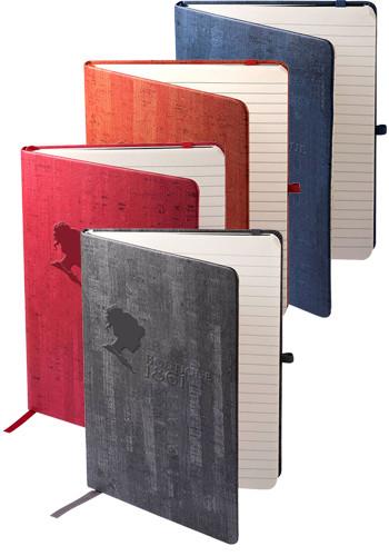 Custom Cork Textured Casablanca Journals