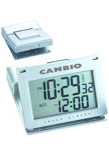 Dual Time Touch Screen Alarm Clocks | NOI10166