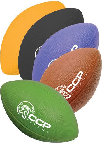 Foam Footballs in Solid Colors | GBFMLFOOT