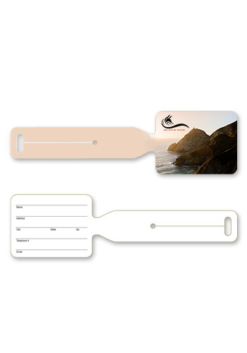 Personalized Plastic Luggage Tags
