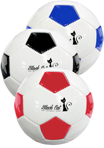 Promotional Full Size Synthetic Leather Soccer Balls