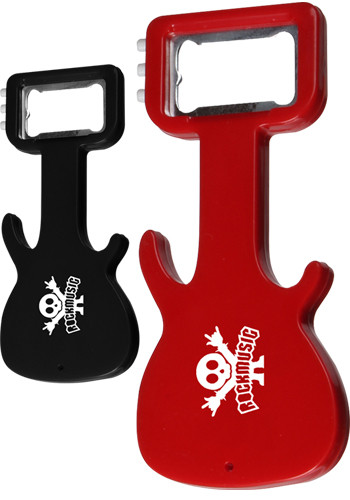 Guitar Shaped Bottle Openers | EDGBO125