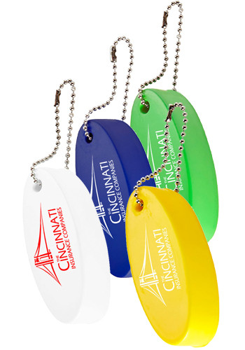 Oval Floater Keytags