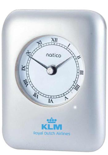 Pearl Silver Desk Alarm Clocks Noi10p604