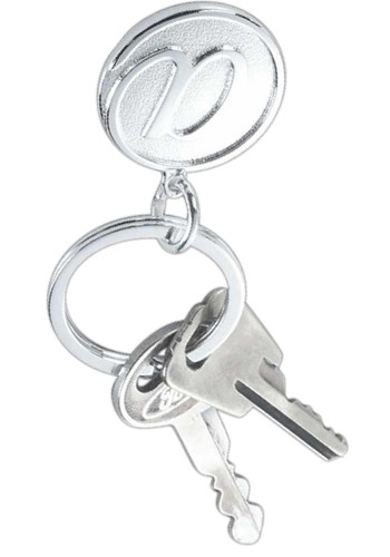 Silver AT Sign Key Rings | NOI601166S